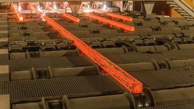 تصویر از صادرات شمش فولادی در ۱۰ ماهه به بیش از ۵.۱ میلیون تن رسید