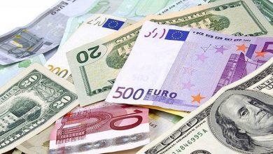تصویر از جزئیات قیمت رسمی انواع ارز / افزایش نرخ یورو و پوند