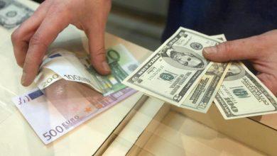 تصویر از جزئیات نرخ رسمی انواع ارز/ کاهش نرخ ۲۳ ارز