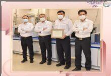 تصویر از موفقیتی دیگر از آزمایشگاه شرکت پتروشیمی پارس