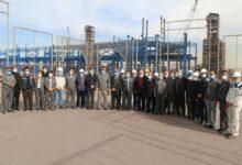 تصویر از مدیرعامل و جمعی از اعضا هیئتمدیره شرکت از منطقه معدنی و صنعتی گلگهر بازدید کردند