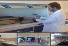 تصویر از آزمایشگاه واحد فرآوری طلای هیرد راه اندازی شد