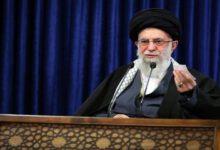 تصویر از رهبر انقلاب: تحریم ها باید فورا متوقف شود