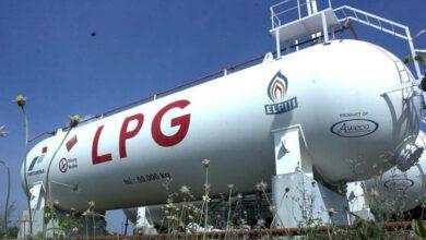 صادرات lpg