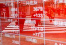 تصویر از سهام آسیا و اقیانوسیه سقوط کرد