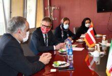 تصویر از سفیر دانمارک در ایران: انگیزه زیادی برای همکاری با ایران در زمینه علوم زمین داریم