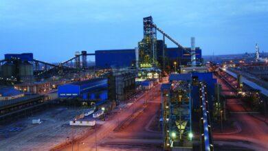 تصویر از کارخانه تولید آهن اسفجی چادرملو هم رکورد زد