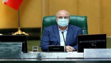 تصویر از قالیباف در صحن مجلس: منابع تعیین شده در بودجه باید واقعی باشد