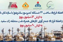 تصویر از مدیرعامل پالایشگاه گاز بیدبلند خلیج فارس خبر داد: فردا قراردادهای ساخت تجهیزات جمعآوری گازهای همراه نفت با شرکتهای ایرانی در حضور وزیر نفت منعقد میشود