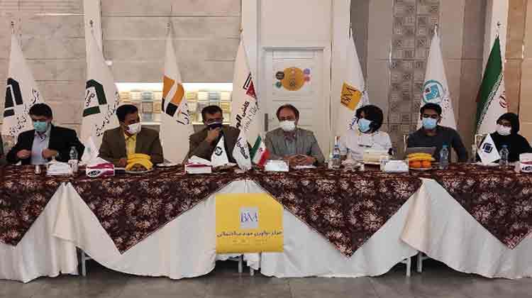 اولین جلسه کمیته راهبری مرکز نوآوری مواد ساختمانی برگزار شد