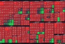 تصویر از نمای پایانی بورس (۱۷ فروردین۱۴۰۰) / افت هزار و ۹۰۰ واحدی شاخص کل در چهارمین روز هفته