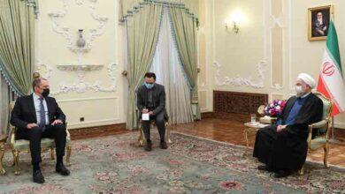 تصویر از رئیسجمهور: باز کردن پای رژیم صهیونیستی به خلیج فارس، اقدامی خطرناک است