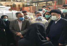تصویر از بازدید آیت الله رئیسی از کارخانه امرسان +تصاویر