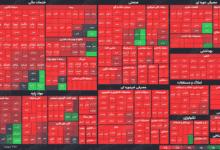 تصویر از شاخص کل بورس با افت چهار هزار و ۷۵۵ واحدی به معاملات پایان داد