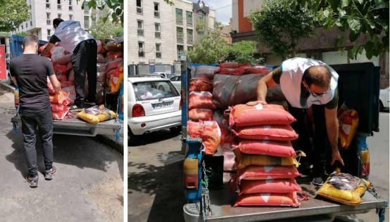 در ماه مبارک رمضان انجام شد؛ اهداء بیش از سه تن برنج به دو موسسه خیریه از سوی افق کوروش