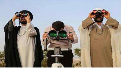 تصویر از توضیحات عضو ستاد استهلال دفتر مقام معظم رهبری درباره احتمال رویت هلال ماه شوال