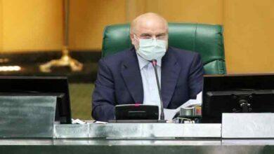 تصویر از قالیباف در صحن مجلس: دنبال رفع کامل تحریمها هستیم/ ابتکار عمل در دست ایران است