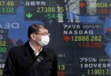 تصویر از سهام آسیا رشد کرد