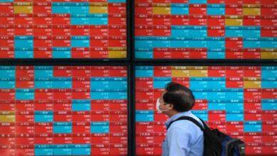 تصویر از رشد بازار سهام آسیا و اقیانوسیه
