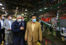 تصویر از بازدید رئیس سازمان حمایت مصرف کنندگان و تولیدکنندگان کشور از پالایشگاه ایرانول