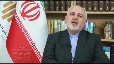 تصویر از دعوت ظریف از مردم برای حضور در انتخابات۱۴۰۰؛ ۲۸ خرداد، جشن ملی امید +فیلم